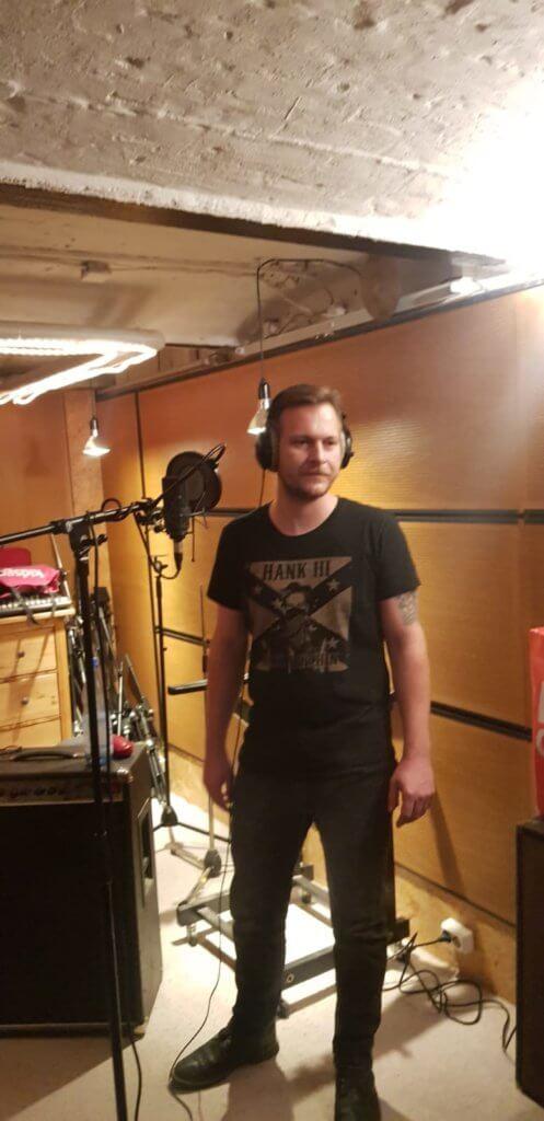 Martin von Zargenbruch im Studio