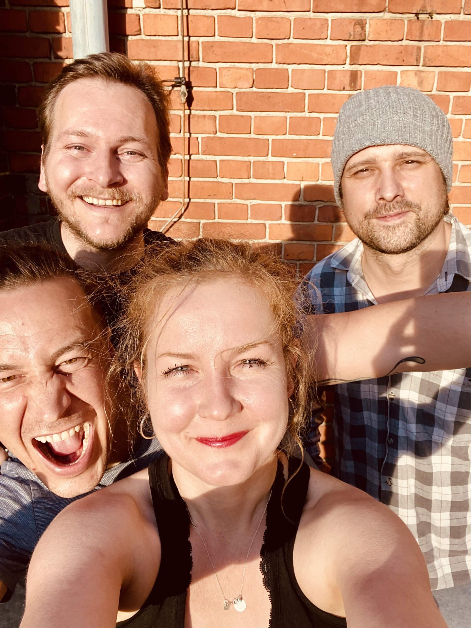 Flo, Martin, Aleksej, Thekla